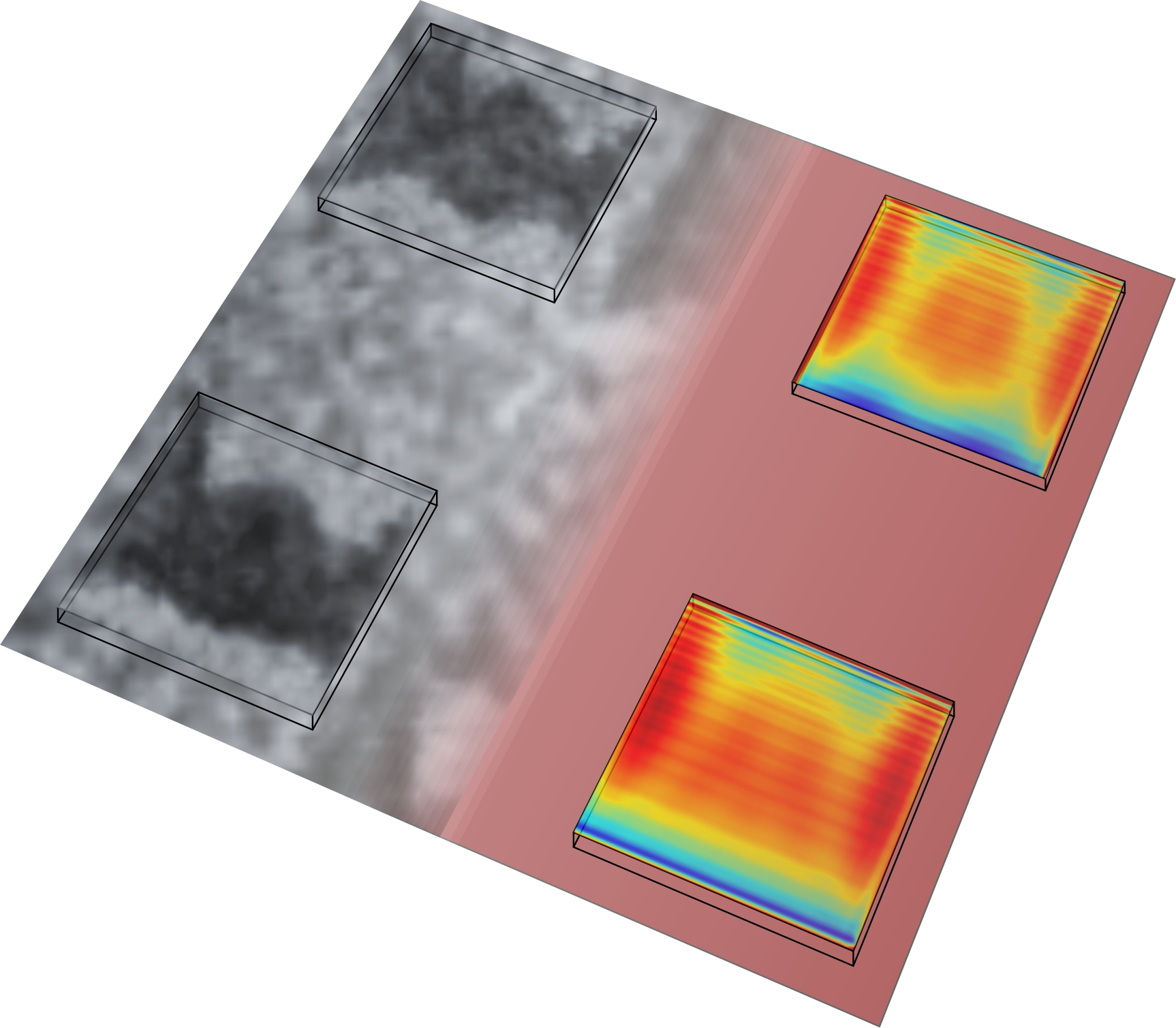 Experiment and theory by comparison: the PSI researchers' Dutch colleagues were able to illustrate the magnetic structures generated by laser beams effectively in computer simulations.